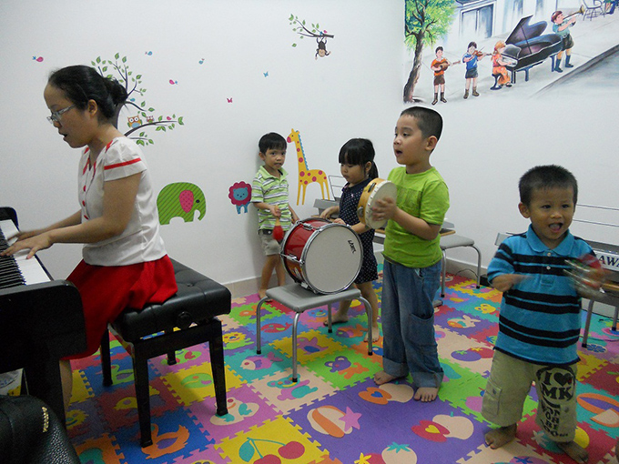 Học thử Piano cho trẻ mầm non