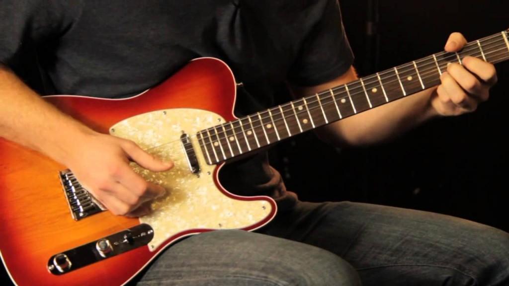 Guitar điện thông thường có 6 dây.