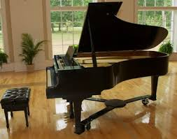 Đàn grand piano.